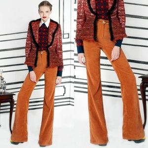 Alice + Olivia Corduroy Pants Bell Bottoms Flare